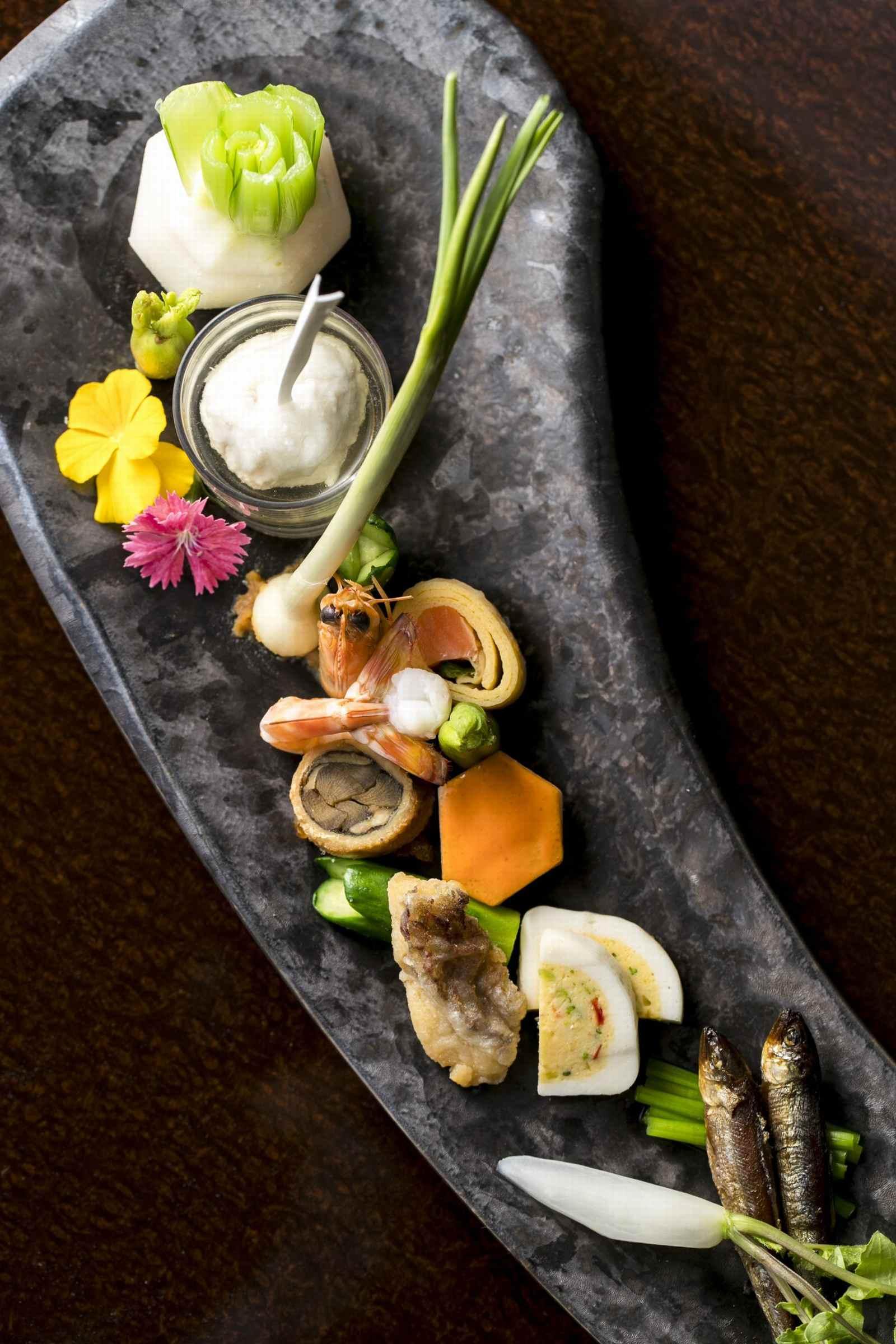 高松市の結婚式場アイルバレクラブの婚礼料理のイメージ