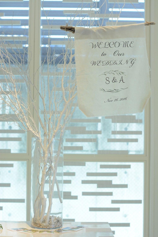 高松市の結婚式場アイルバレクラブのウエディングフラッグ
