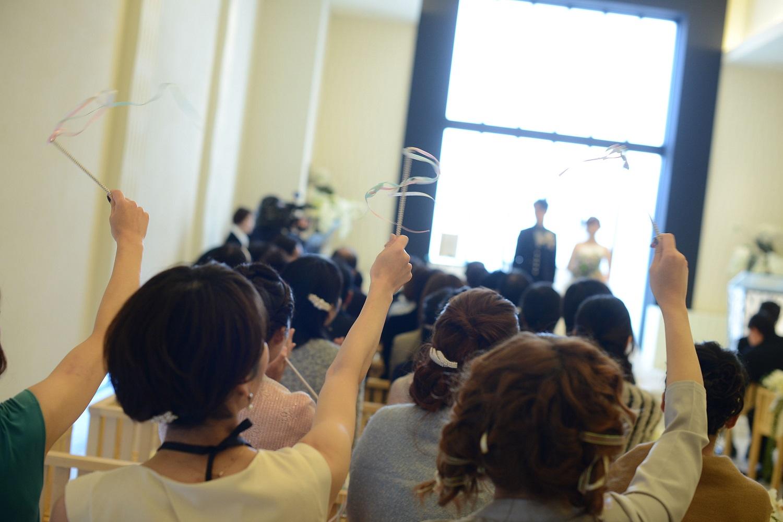 高松市の結婚式場アイルバレクラブの人前式とゲスト