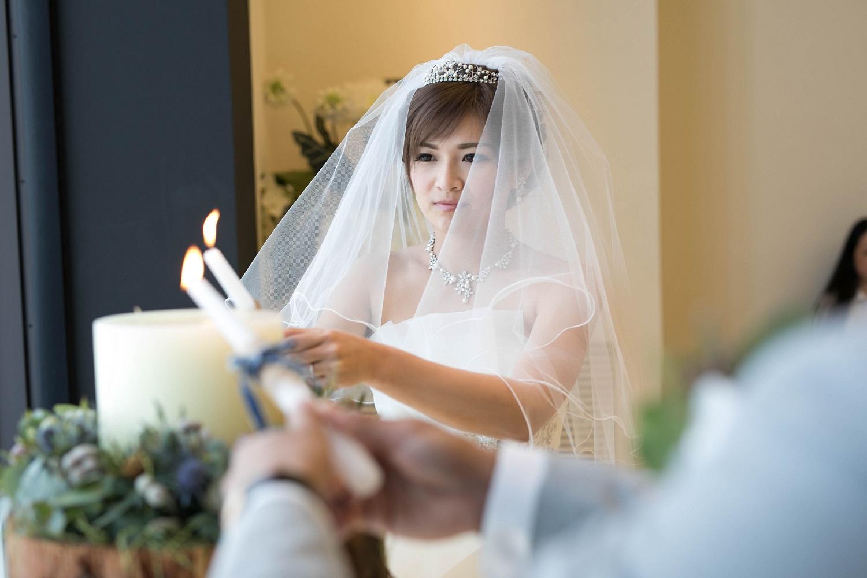 高松市の結婚式場アイルバレクラブの挙式の演出