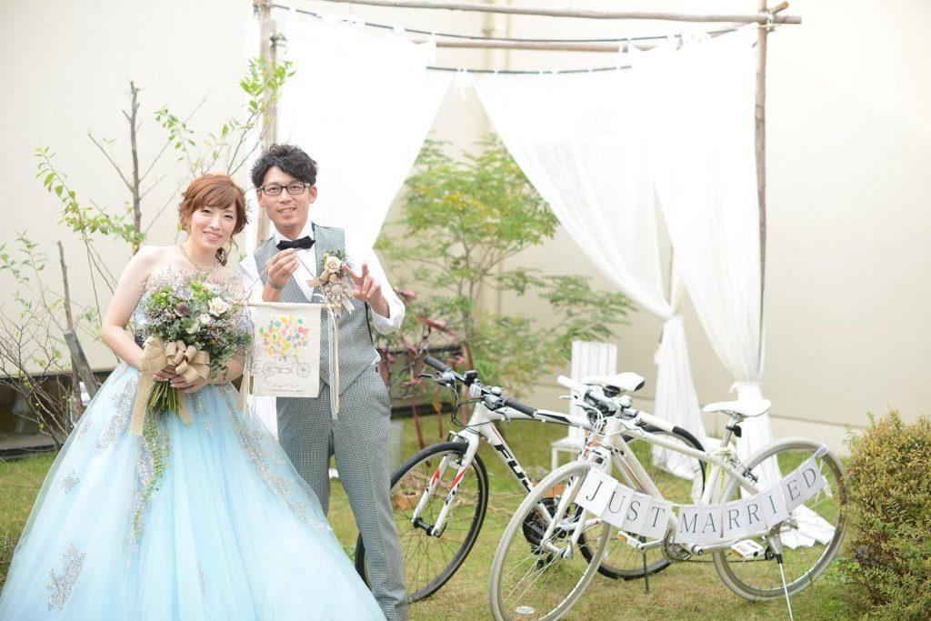 高松市の結婚式場アイルバレクラブで挙げた新郎新婦