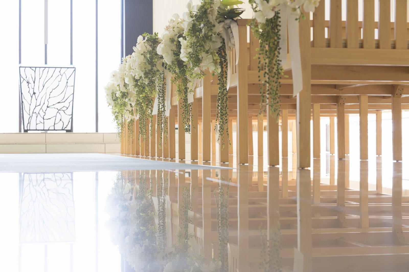 高松市の結婚式場アイルバレクラブのチャペル