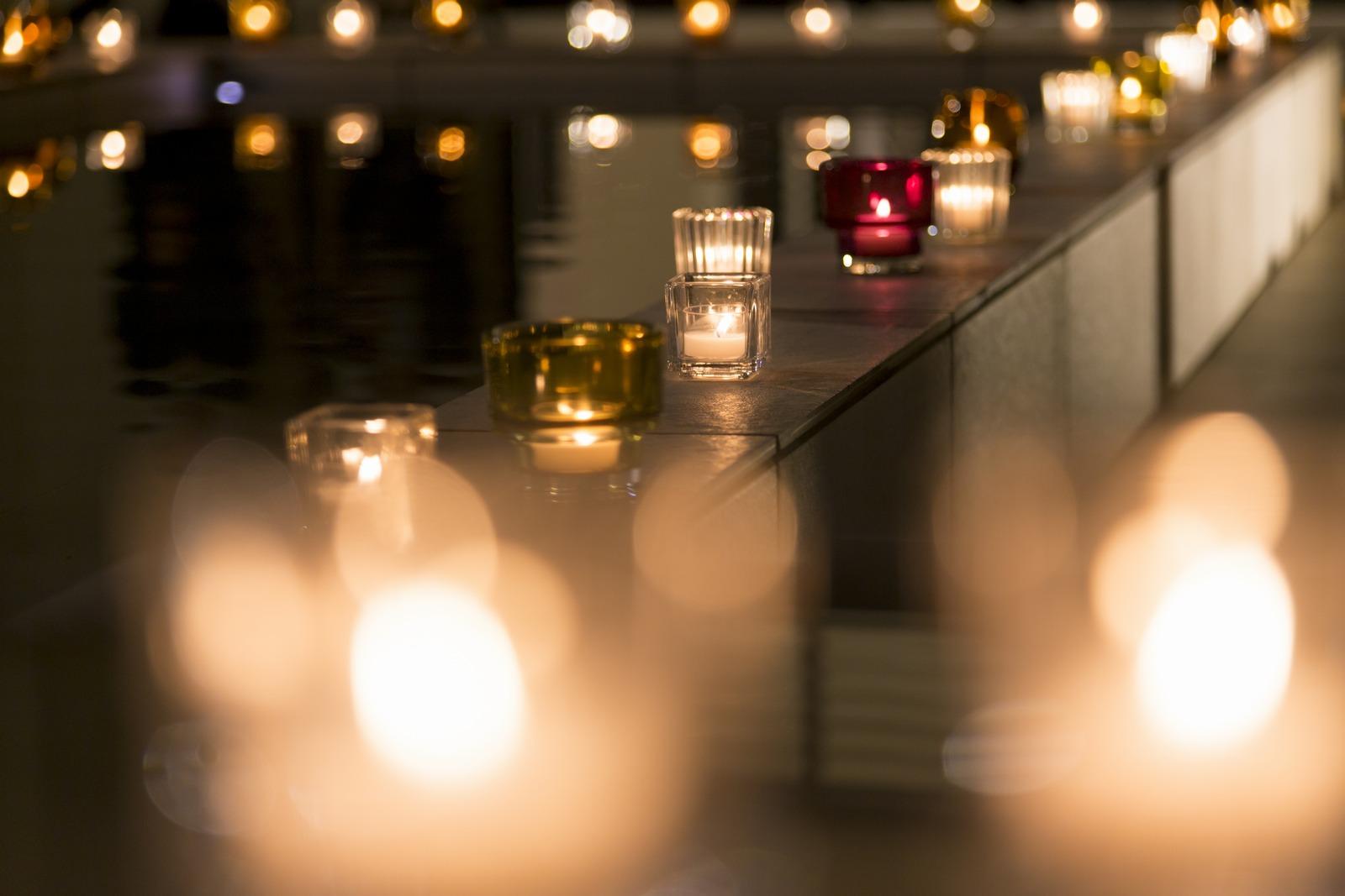 高松市の結婚式場アイルバレクラブのキャンドル