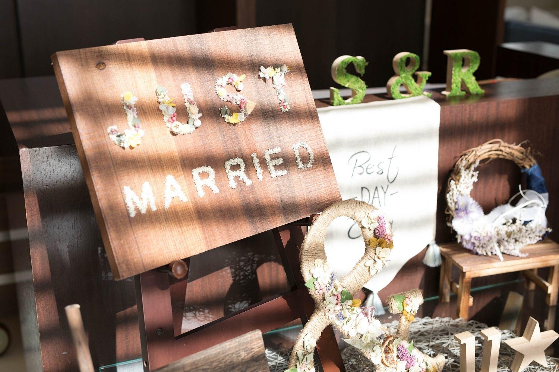 高松市の結婚式場アイルバレクラブのウエルカムボード