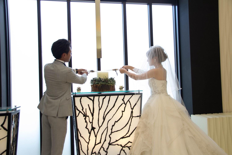 高松市の結婚式場アイルバレクラブの人前式の演出