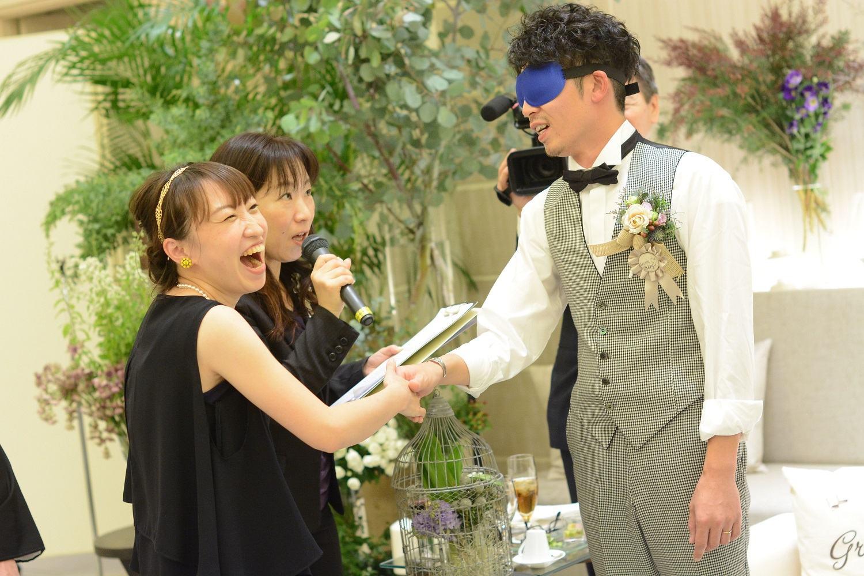 高松市の結婚式場アイルバレクラブの結婚式の余興