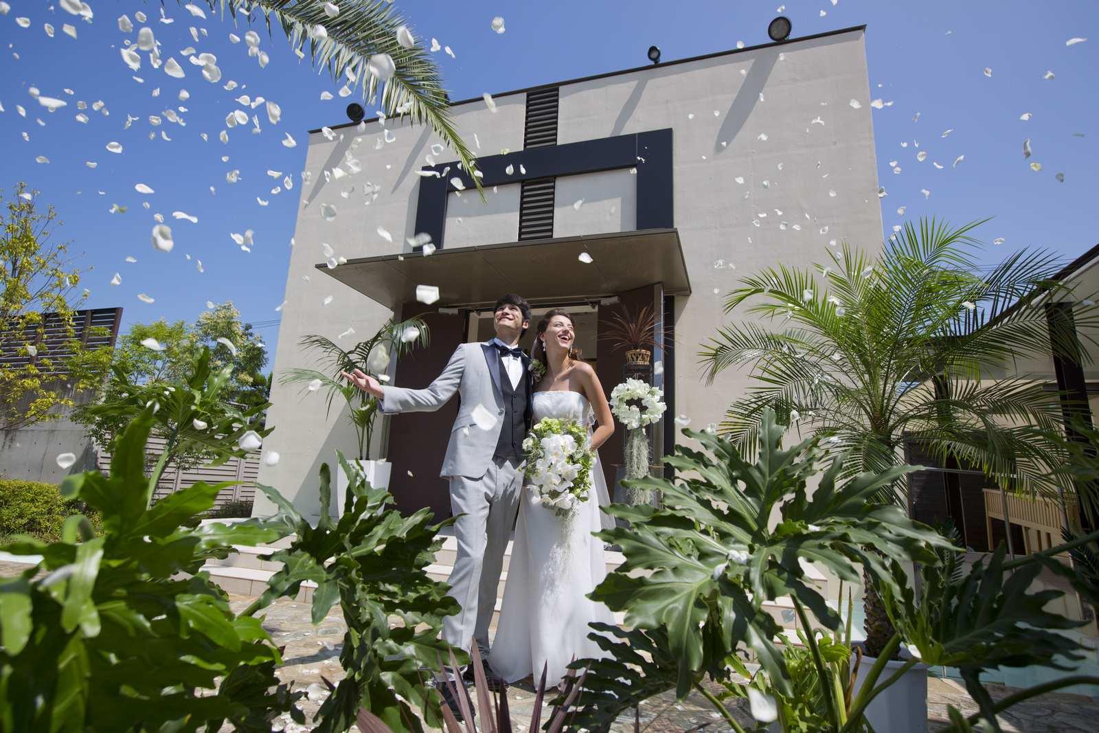 高松市の結婚式場アイルバレクラブの挙式イメージ