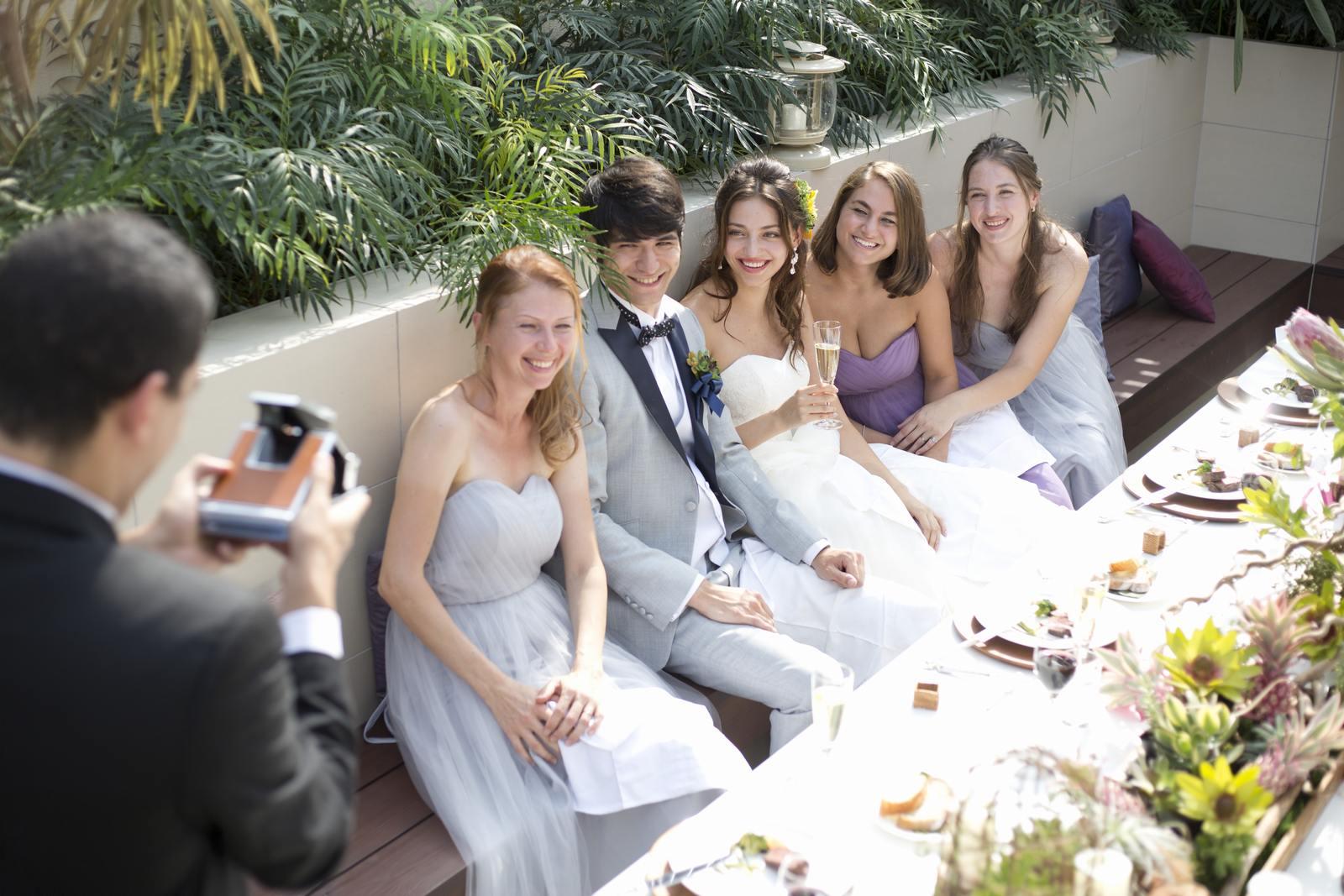 高松市の結婚式場アイルバレクラブのガーデンウエディング