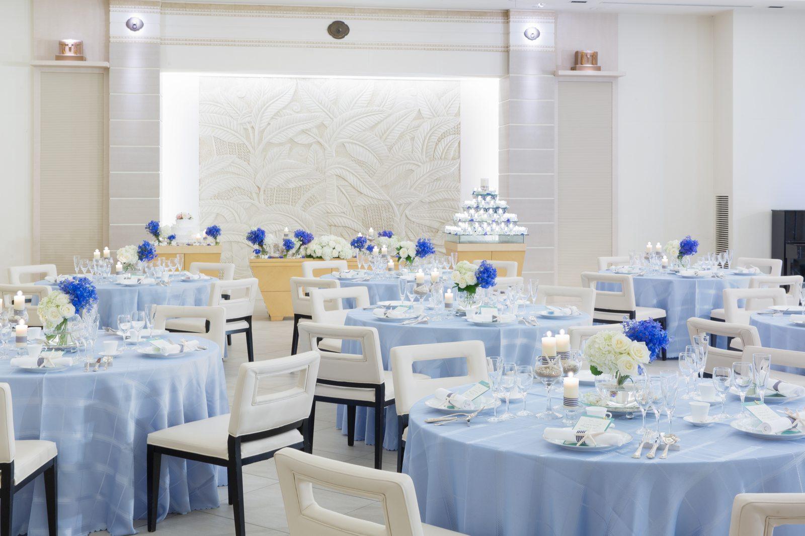 高松市の結婚式場アイルバレクラブのプラウのコーディネート