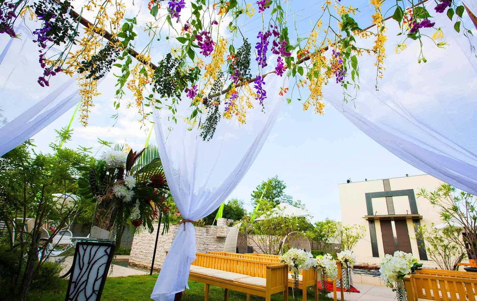 高松市の結婚式場アイルバレクラブのアイルガーデンのイメージ