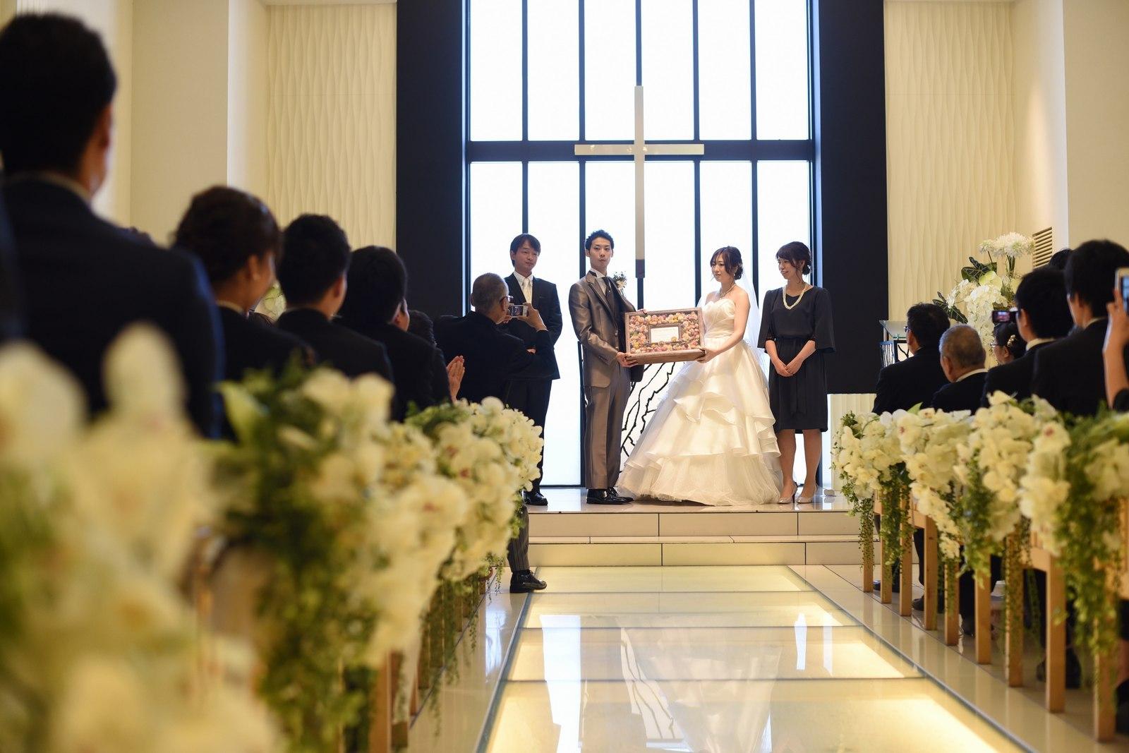 高松市の結婚式場アイルバレクラブで人前式の承認