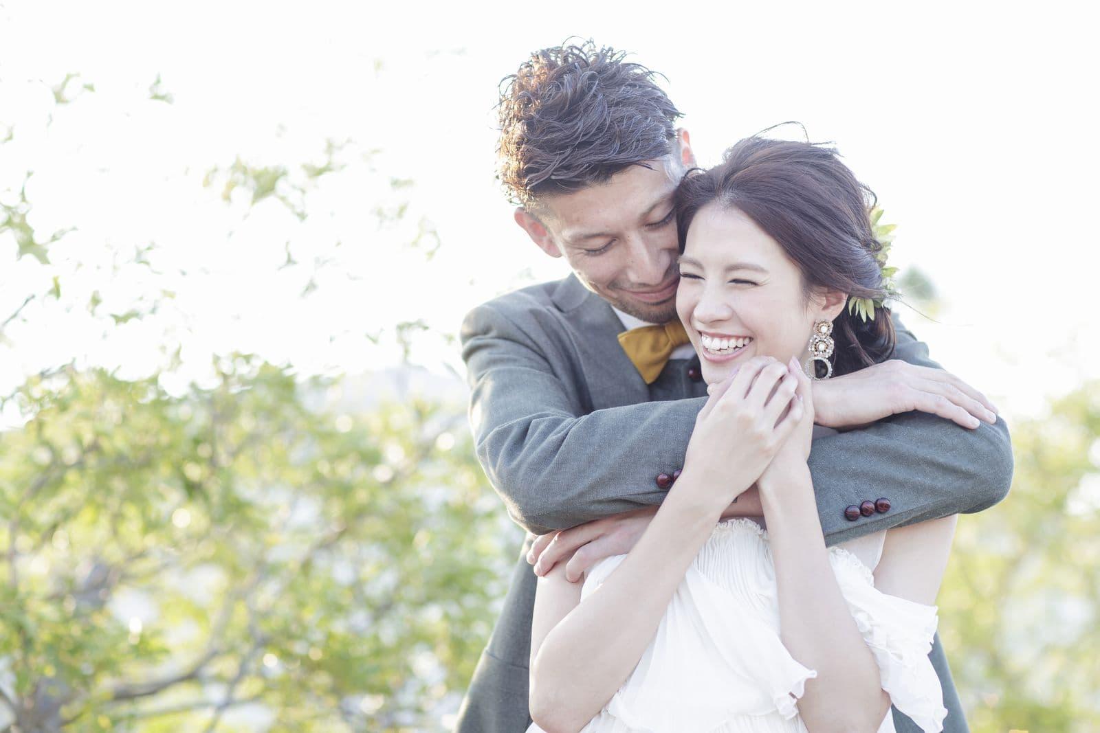 高松市の結婚式場アイルバレクラブのコンセプト「ハグアンドシェア」