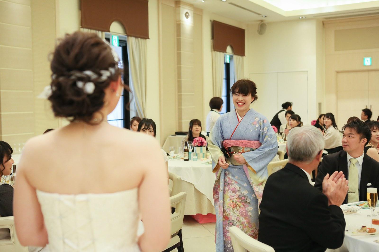 高松市の結婚式場アイルバレクラブでご家族と中座