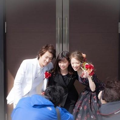 高松市の結婚式場アイルバレクラブの記念写真