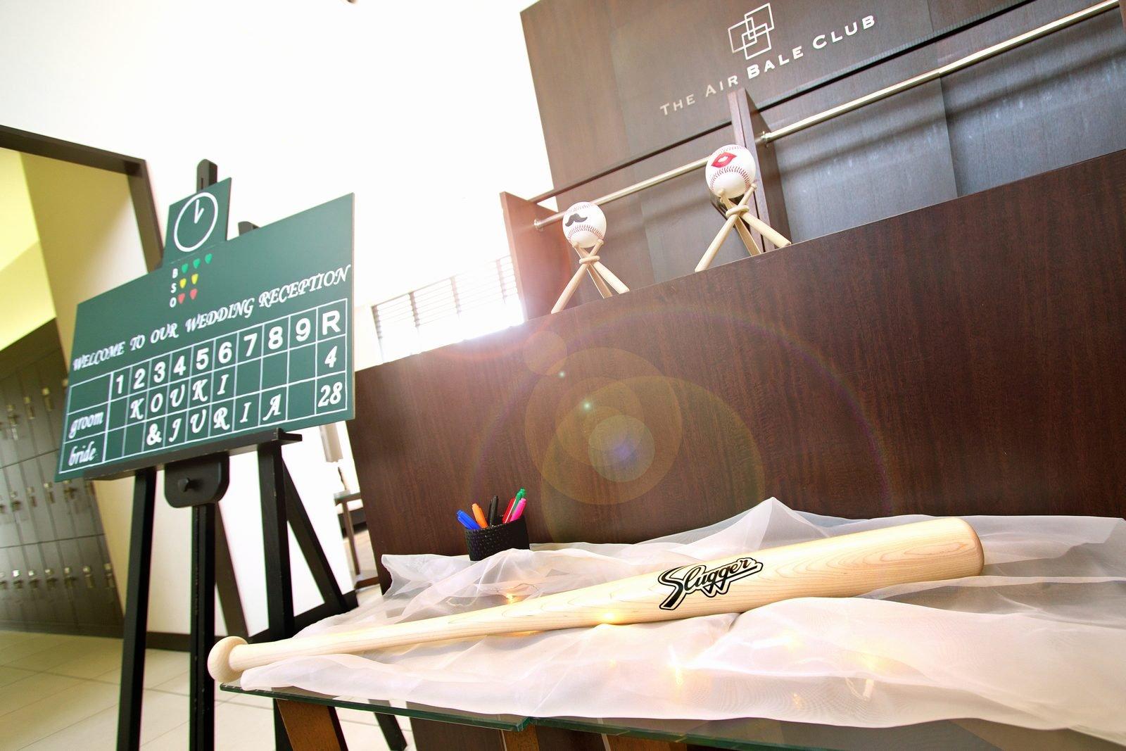 高松市の結婚式場アイルバレクラブのウェルカムスペース