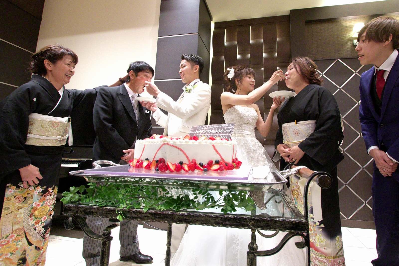 高松市の結婚式場アイルバレクラブのサンクスバイト