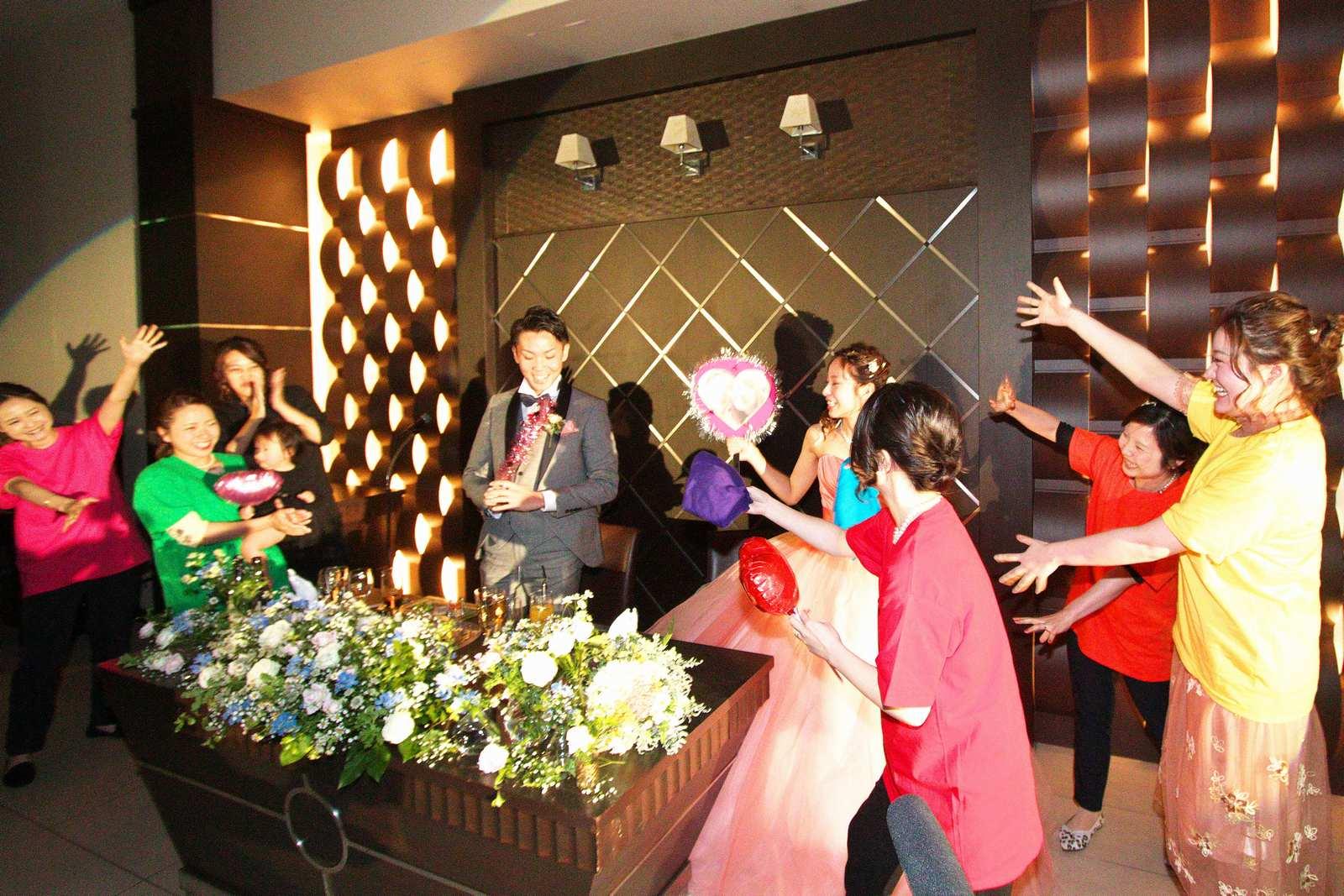 高松市の結婚式場アイルバレクラブのサプライズ