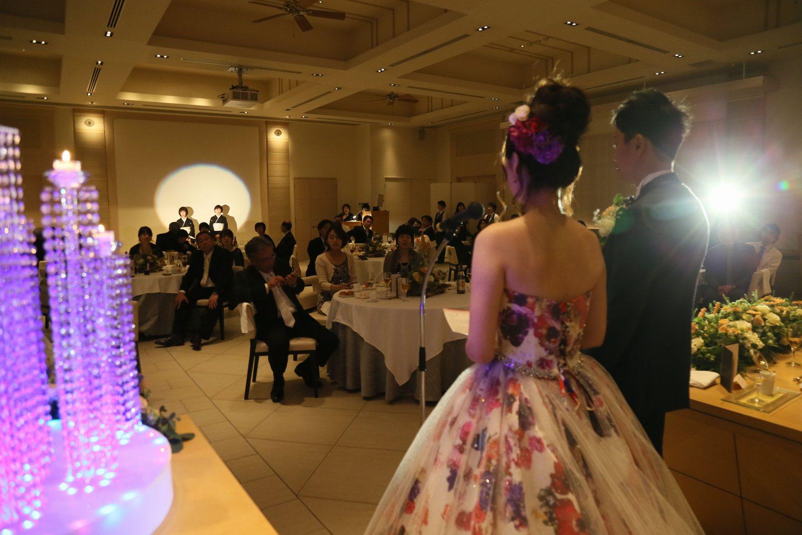 高松市の結婚式場アイルバレクラブの披露宴 日頃の感謝と想いを親御様に届ける