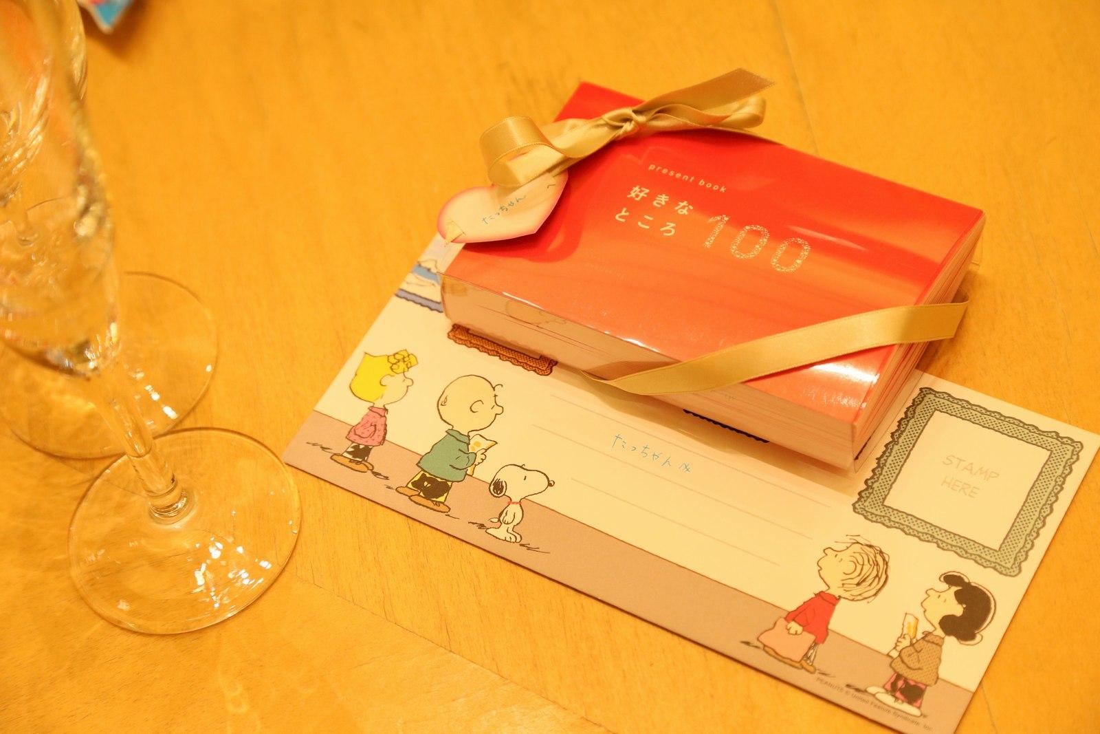 高松市の結婚式場アイルバレクラブのサプライズ演出 新婦様から新郎様へのサプライズプレゼント