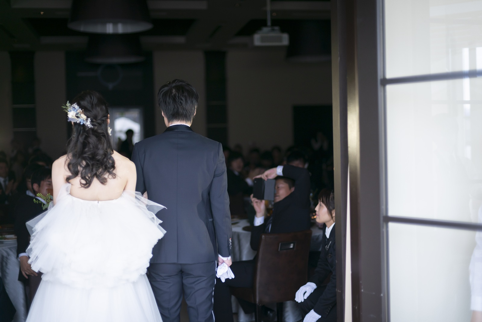 高松市の結婚式場アイルバレクラブ 再入場