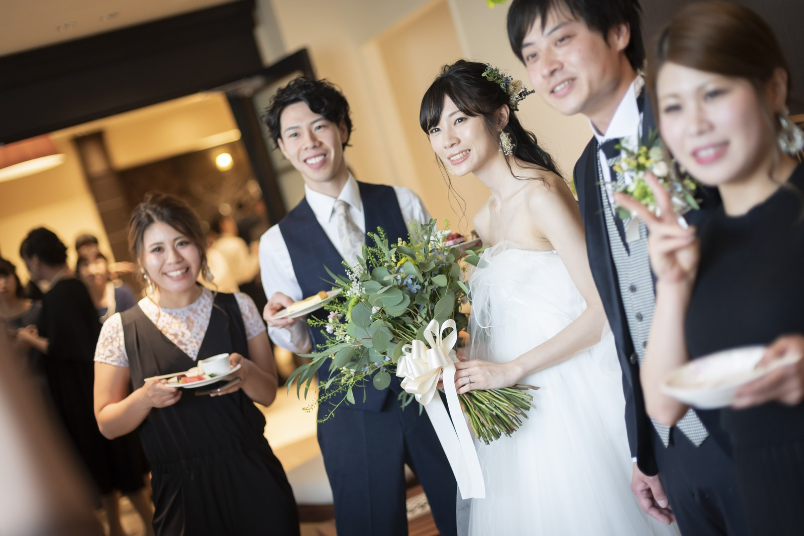 高松市の結婚式場アイルバレクラブ デザートブッフェ
