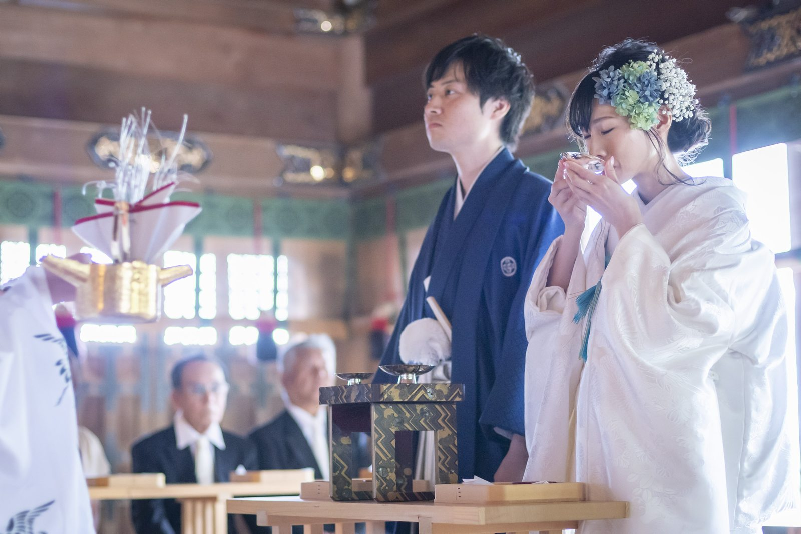 高松市の結婚式場アイルバレクラブ 神前式