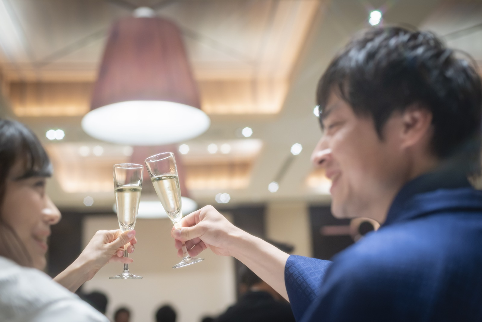 高松市の結婚式場アイルバレクラブ 乾杯