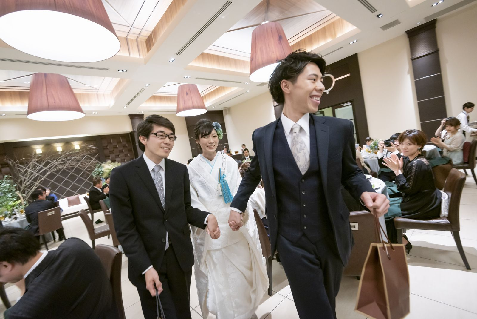 高松市の結婚式場アイルバレクラブ 中座