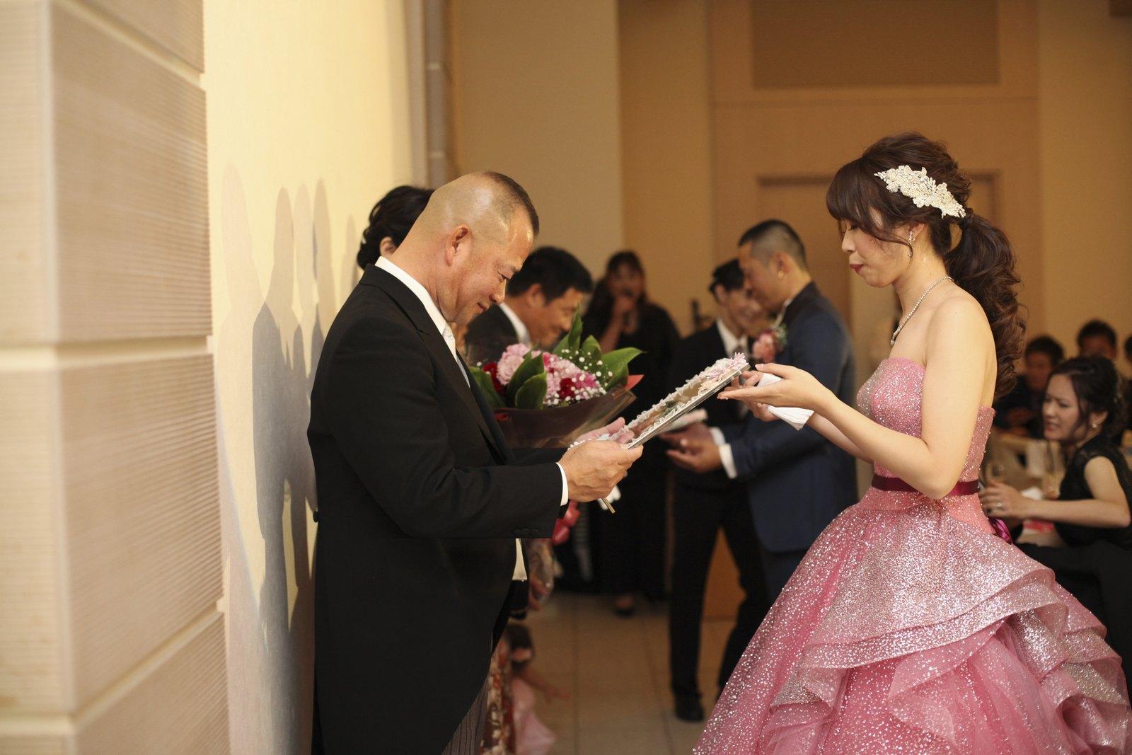 高松市の結婚式場アイルバレクラブ 手紙