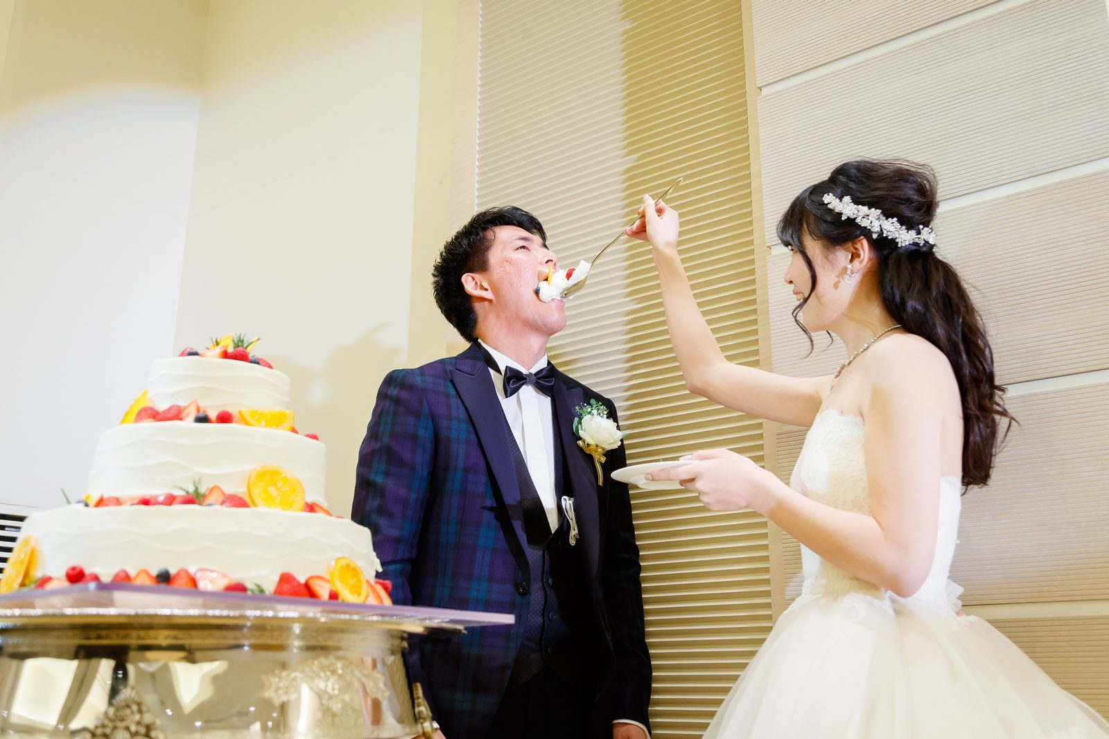 高松市の結婚式場アイルバレクラブ ケーキ