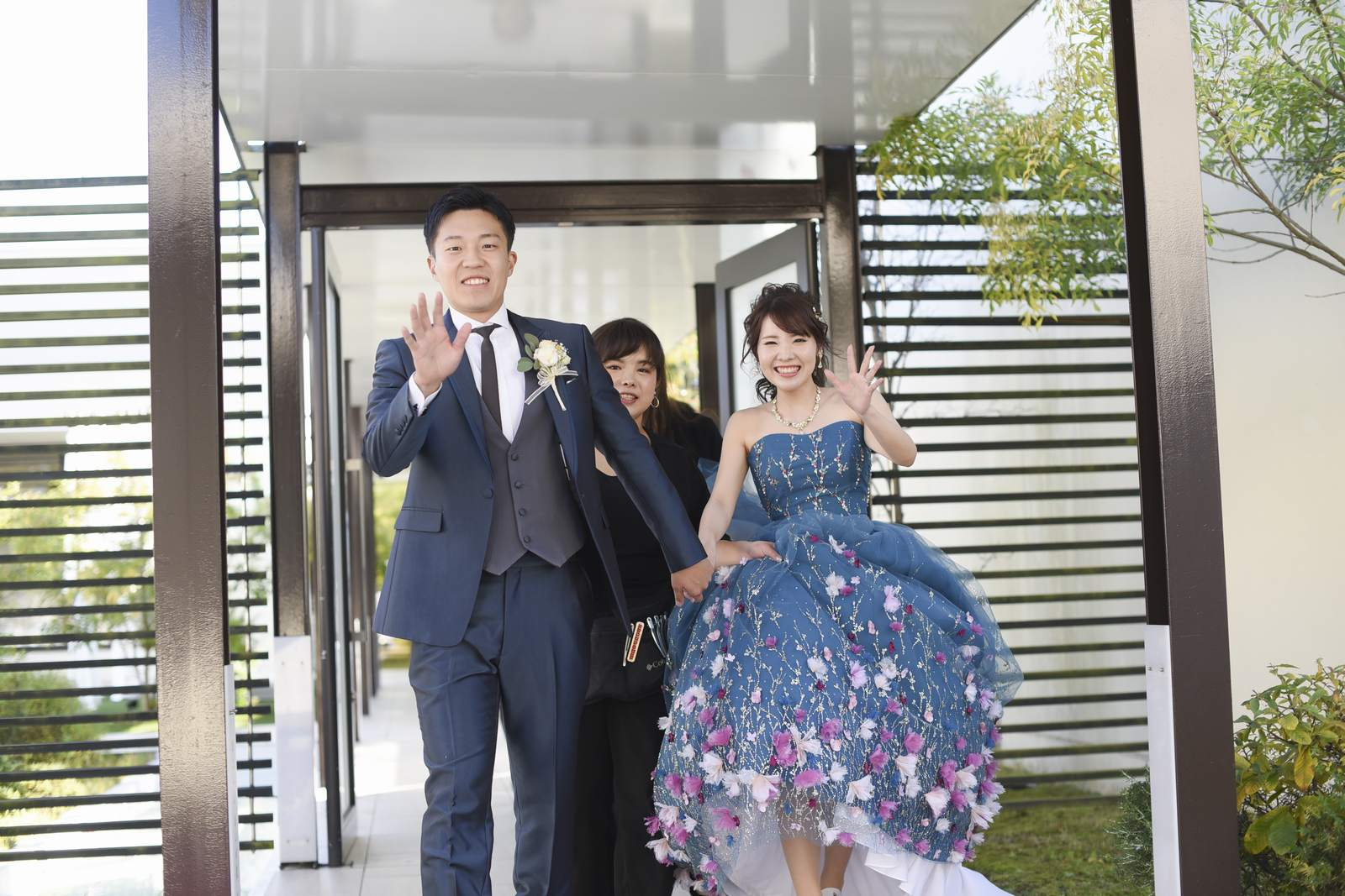 高松市の結婚式場アイルバレクラブ お色直し
