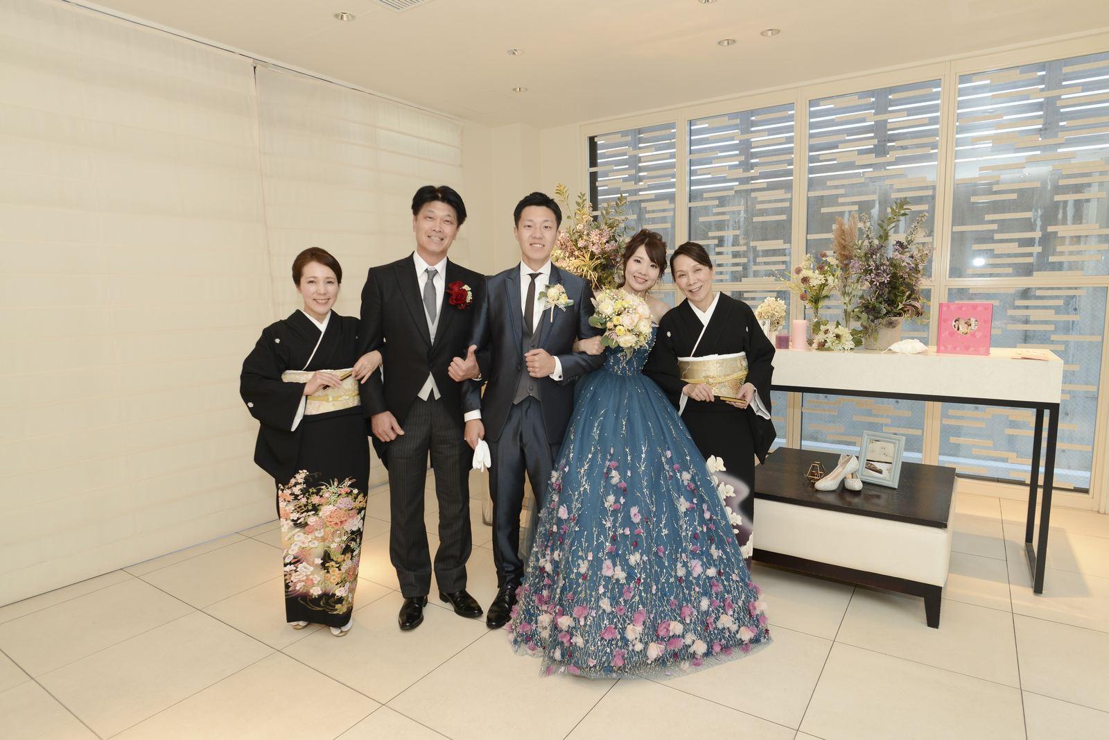 高松市結婚式場アイルバレクラブ 家族写真