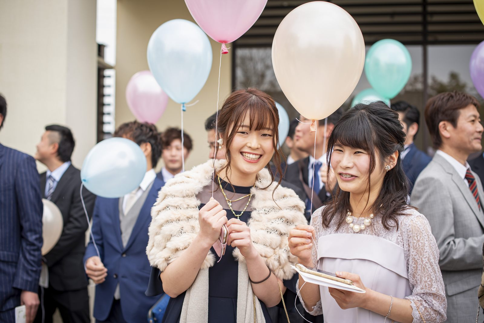 香川県高松市アイルバレクラブのバルーンリリース