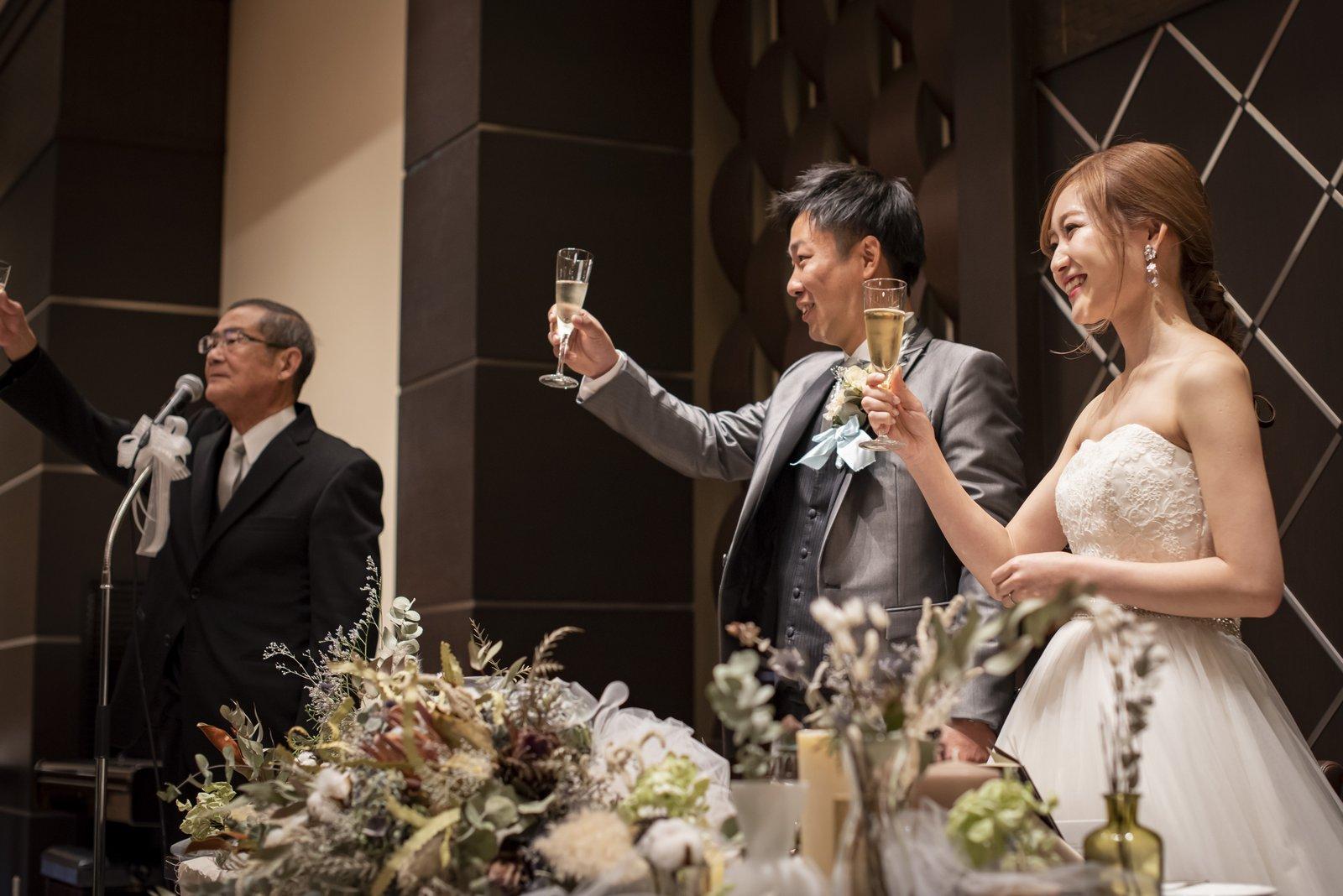 香川県高松市アイルバレクラブの乾杯