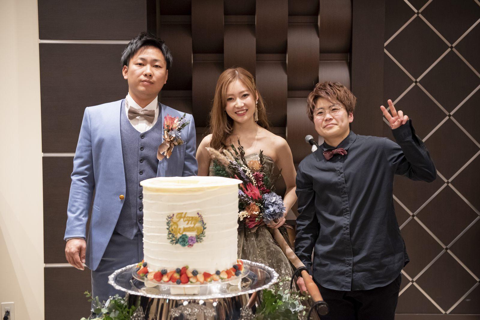 香川県高松市アイルバレクラブのケーキ入刀