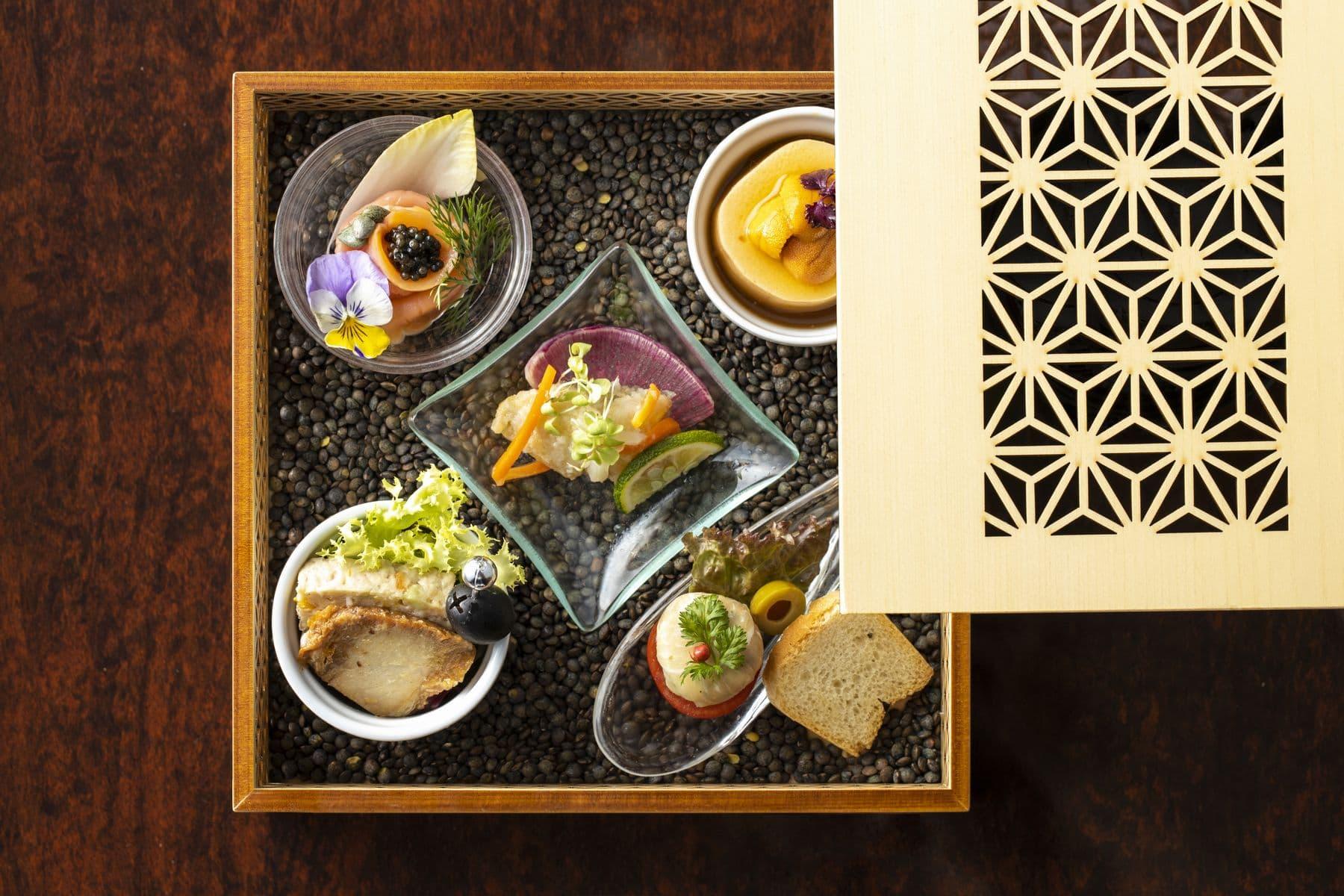香川県高松市の結婚式場アイルバレクラブの料理