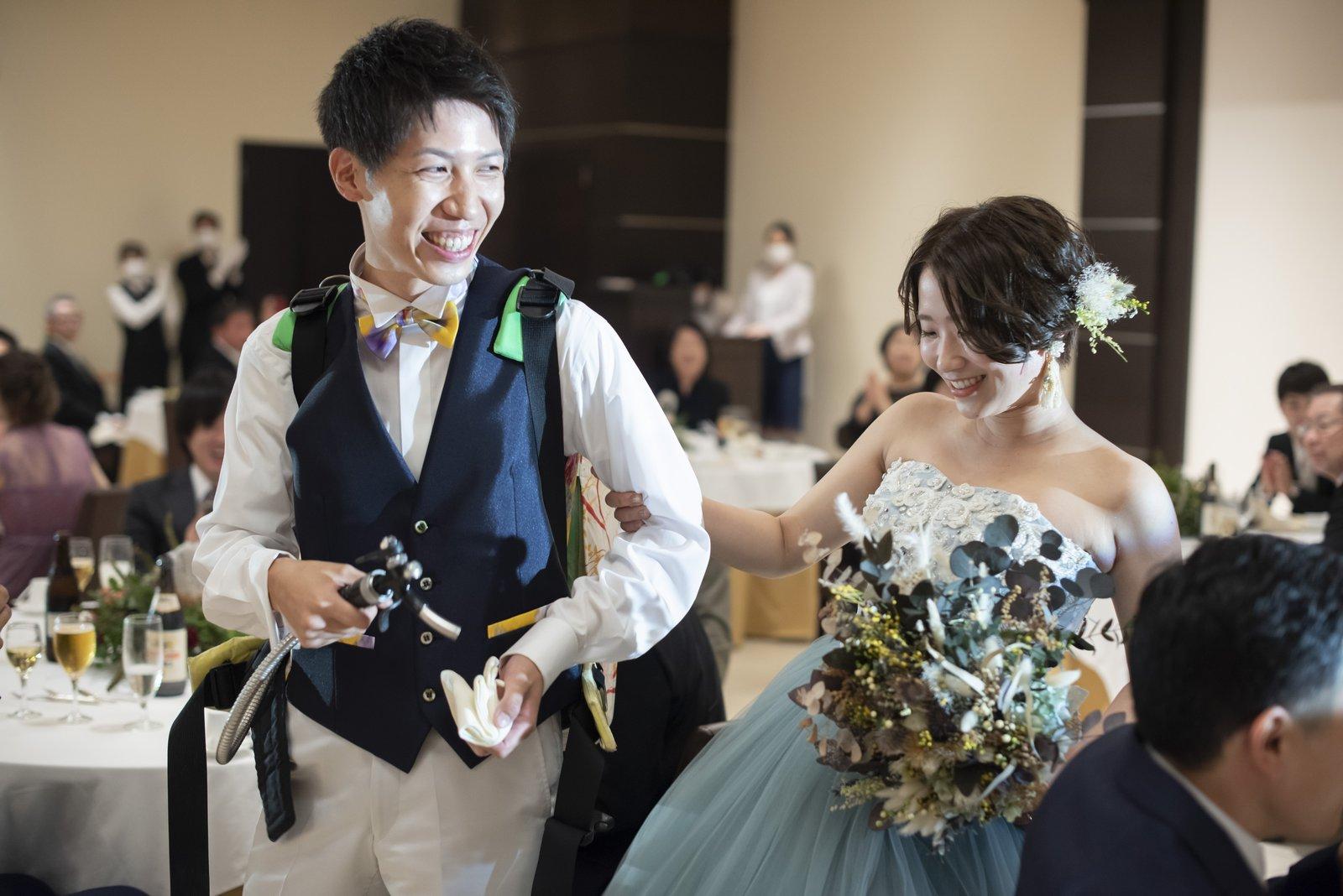 高松市の結婚式場 ビアサーブ