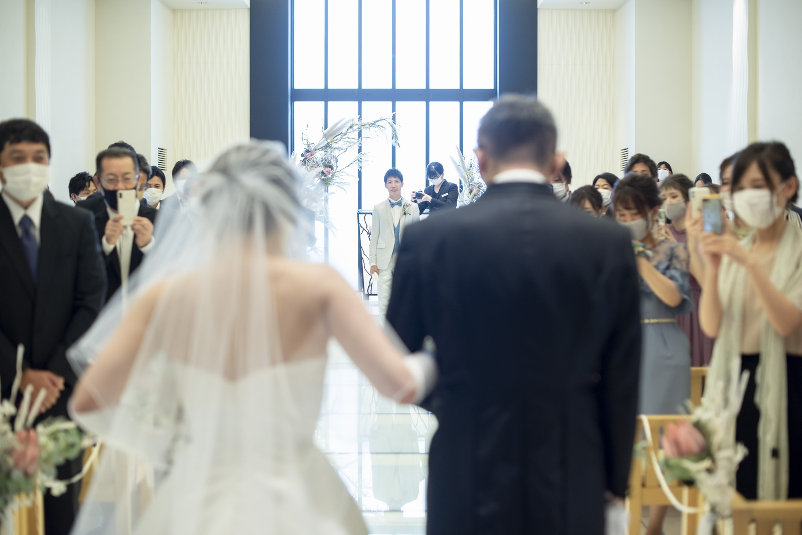 高松市の結婚式場アイルバレクラブ 人前式